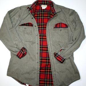 Vintage LL Bean Jacket Flannel